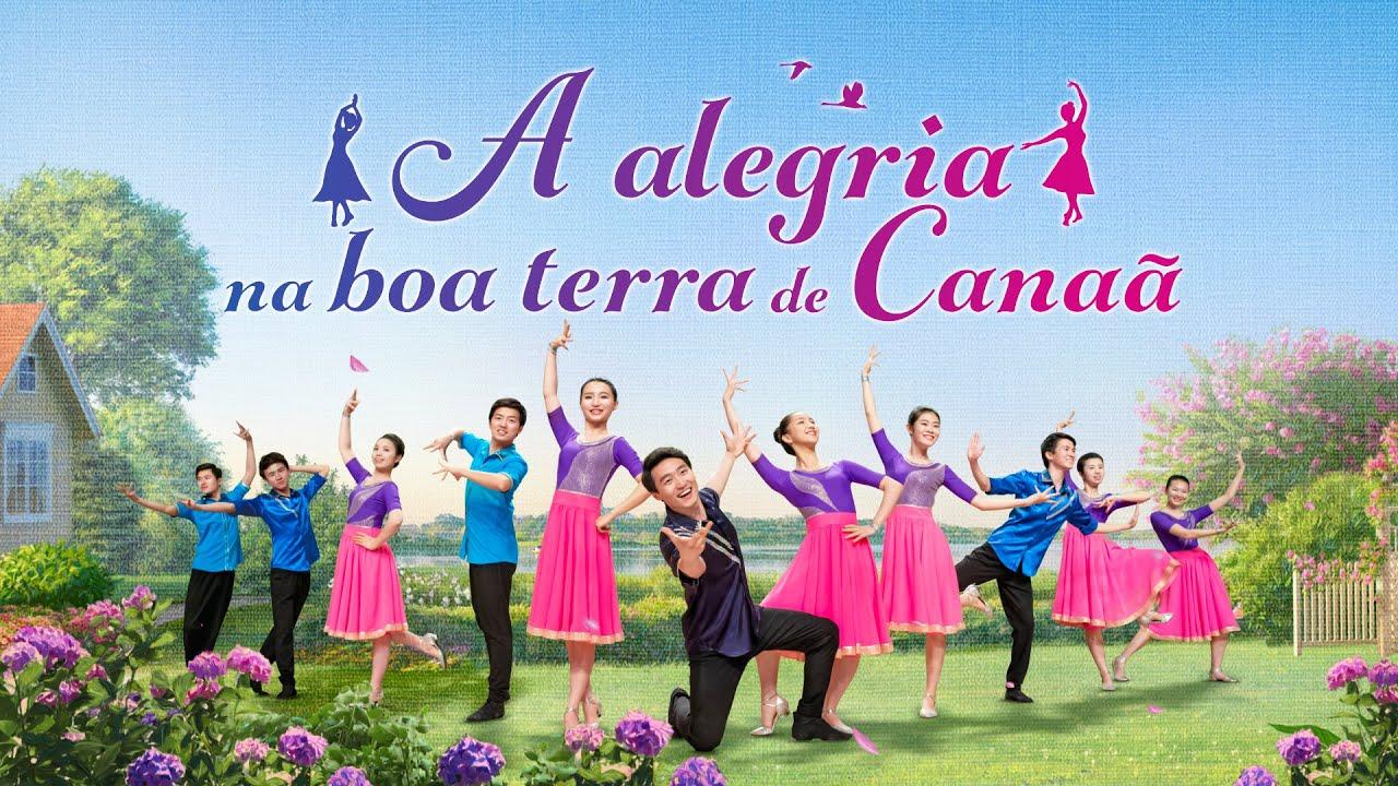 "Música gospel ""A alegria na boa terra de Canaã"""