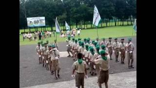 Scouting Month Fancy Drill 2016: Daan Bantayan Boy Scouts