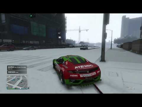 Gta 5 Extra Days of Snow And Christmas Gift,Present Of Rockstar, (Gta 5 Gameplay), Playstation 4