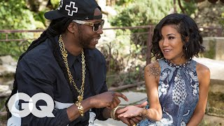 Jhené Aiko & 2 Chainz Visit a Psychic | Most Expensivest Shit