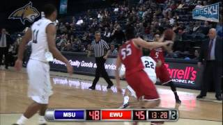 Men's Basketball vs Montana State (Jan. 21).