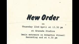 New Order-Digital (Live 4-23-1981)