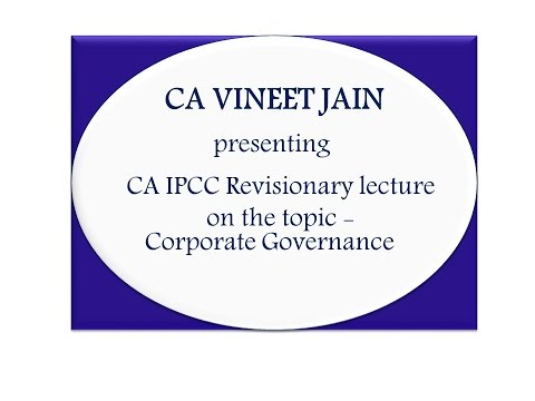 IPC Ethics Revision-Corporate Governance
