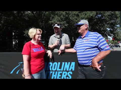 Lifelong Panthers fans Cindy and Bob Beane on their son, the Bills GM