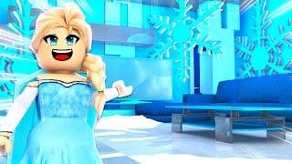 Frozen Mermaid House Build Challenge