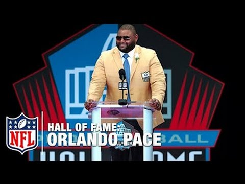 Orlando Pace Hall of Fame Speech | 2016 Pro Football Hall of Fame | NFL