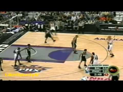 Tim Duncan 2003 Playoffs: 15pts, 20rebs & 10asts, Gm 6 vs. Phoenix Suns