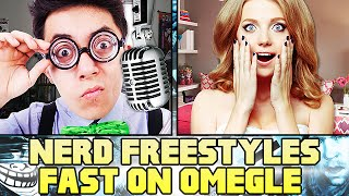 NERD RAPS FAST ON OMELGE! (Super Fast Freestyling)