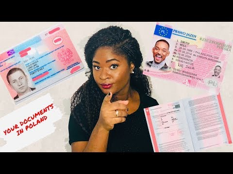 YOUR DOCUMENTS IN POLAND // IMPORTANT INFORMATIONS ⎮African Queen In Poland🌍👸🏾🇵🇱
