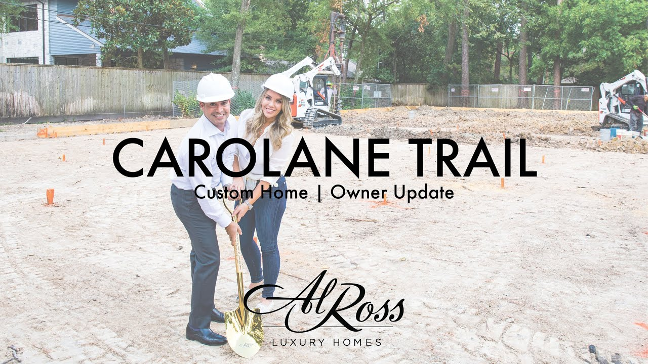 Al Ross Luxury Homes | Custom Home Carolane Trl Progress | Owner Jocelyn Zamir
