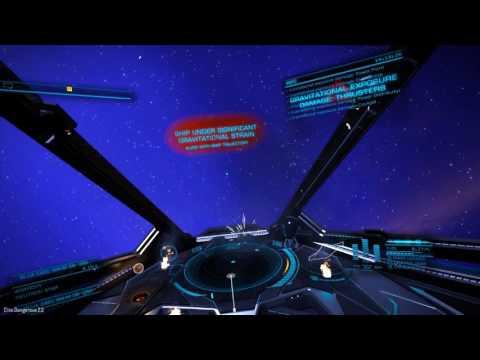 Elite Dangerous 2.2 Beta - Dropping into a neutron star jet