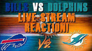 Buffalo Bills Vs Miami Dolphins Week 11 Live Stream Reaction!