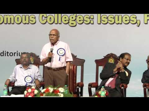 Dr. B.M.Hegde , Former VC talk  - Mangalore University on 20th and 21st Nov 2015.