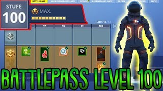 Season 3 Battle Pass LvL 100 | Ich zeige euch alle Belohnungen! | Fortnite Battle Royale