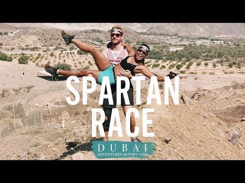 WE DID THE SPARTAN RACE DUBAI