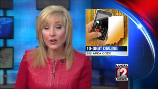 Indiana dialing changes to include area code