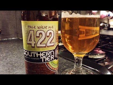 Southern Tier 422 Pale Wheat Ale By Southern Tier Brewing Company | American Craft Beer Review