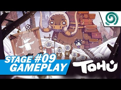 TOHU - Puzzle Game | Getting The Third Totem | Stage 09 Gameplay |