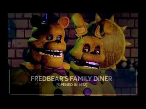 [AMS FNAF] All Five Nights At Freddy's Animatronics