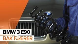 Montering Opphengingsfjær selv videoguide på BMW 3 SERIES