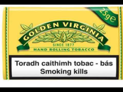 Golden Virginia Sarı Yellow Ithal Paket Tütün Wwwtutuncesitleri