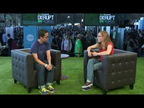 Mathilde Collin of Front on Disrupt TV