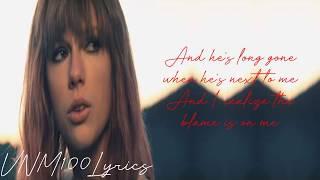 Taylor Swift- I Knew You Were Trouble (LYRICS)