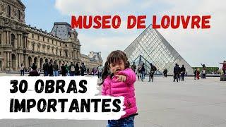 MUSEO LOUVRE PARÍS Obras - Visita las 30 Obras mas Importantes / PERUANA EN PARIS FRANCIA