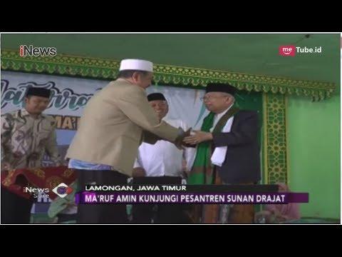 Kunjungi Ponpes Sunan Drajat, Ma'ruf Amin Minta Restu dan Dukungan - iNews Sore 04/09