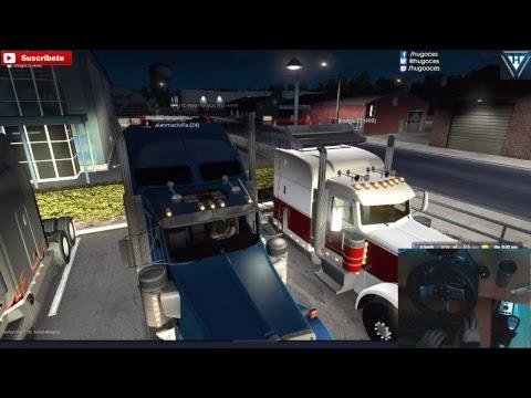 Multiplayer New Mexico, vamos de ruta   Online + Peterbilt 579   American Truck Simulator