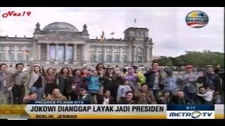 Dukungan Salam 2 Jari untuk Capres Jokowi JK di Eropa