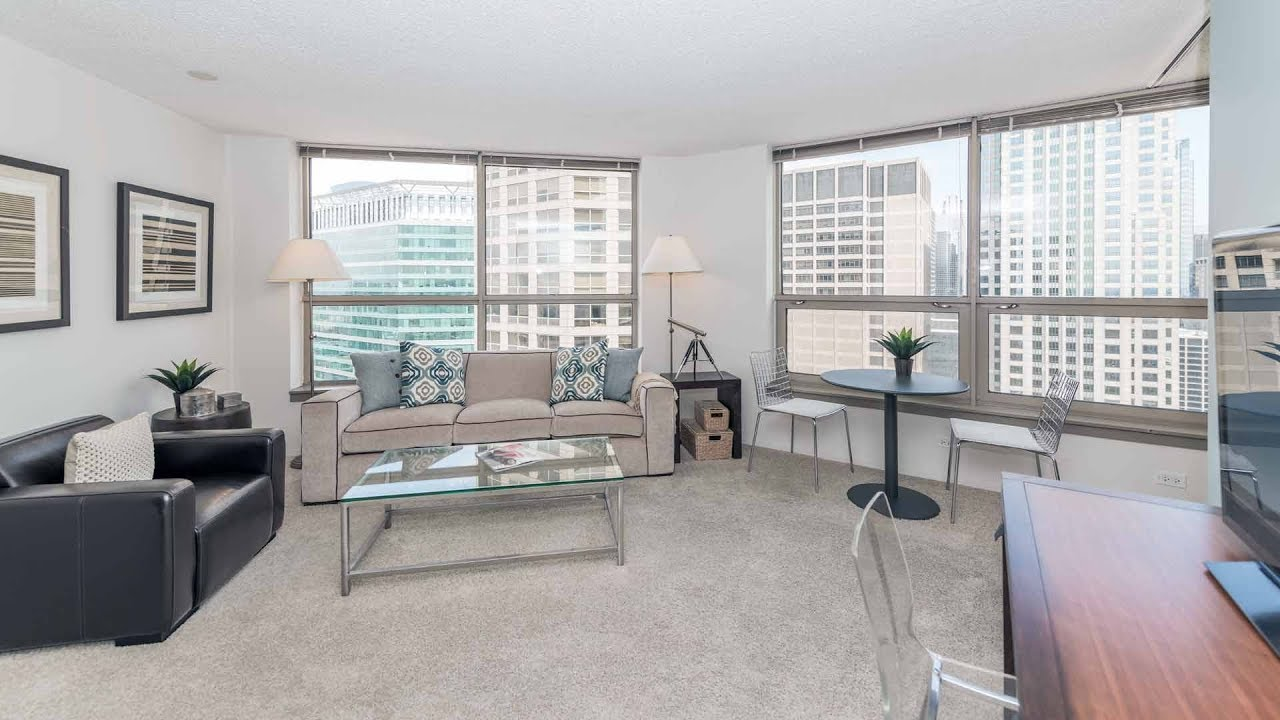 Tour A Model Convertible Apartment At The West Loop S Presidential Towers