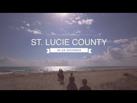 Florida Travel: Experience St. Lucie County in 60 Seconds