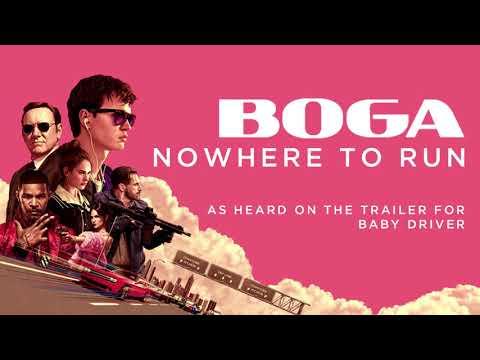 BOGA - Nowhere To Run (Official Audio)