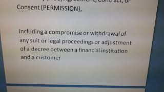 SECTION 8. FINANCIAL INSTITUTION RECOVERY OF FINANCE ORDINANCE 2001