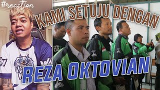 Reaction, dear abang ojol ku sayang reza oktovian
