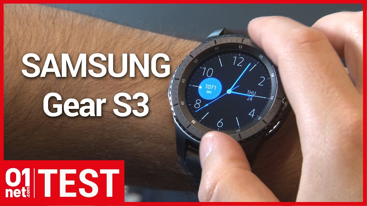 test samsung gear s3 la meilleure montre connect e pour android youtube. Black Bedroom Furniture Sets. Home Design Ideas