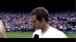 Andy Murray- Keep fighting till you achieve.