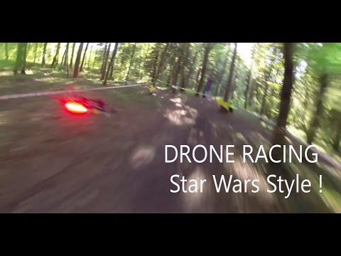 FPV Racing drone racing star wars style Pod racing are back!