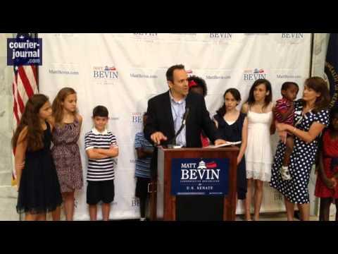 • Matt Bevin Announces for US Senate • Kentucky • 7/24/13 •