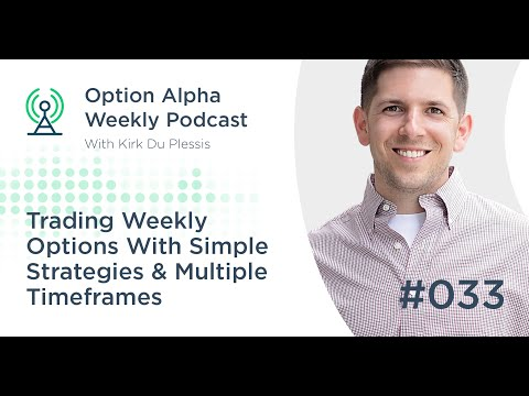 Trading Weekly Options With Simple Strategies & Multiple Timeframes - Show #033
