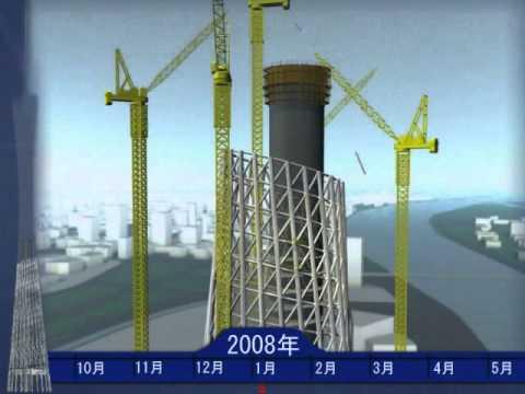 Canton Tower - Virtual Construction Simulation