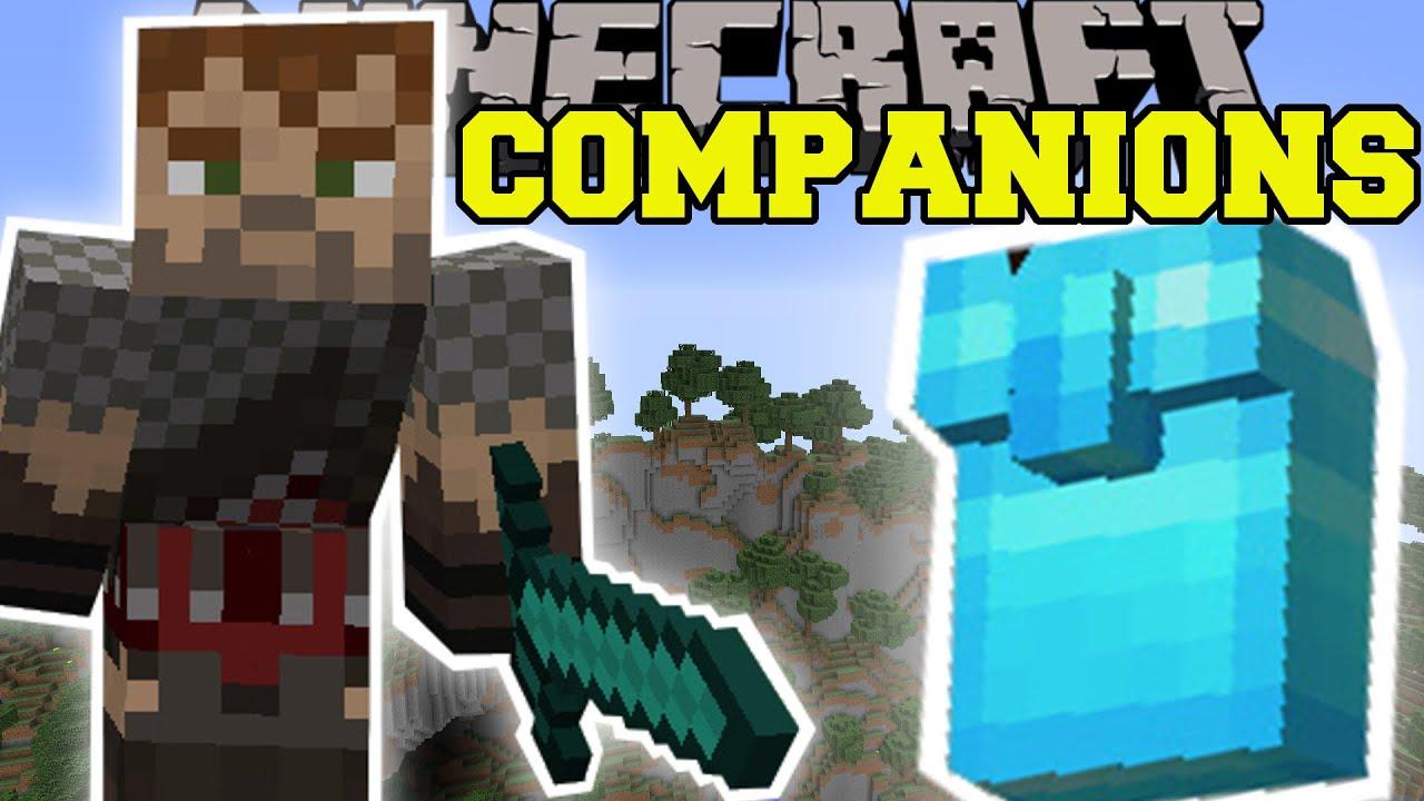 minecraft epic companions your new best friend mod showcase