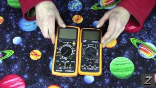 DT-9205A Digital Multimeter Unboxing and Review