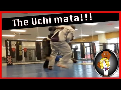 BJJ Roll No. 113 - The Uchimata in BJJ - w/Gabe at Smiley Academy
