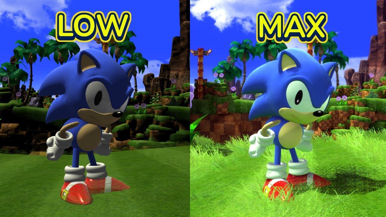 Sonic Generations: Ultra Low vs. Ultra Max