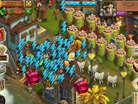 Klondike Facebook game como ganar mucha energia