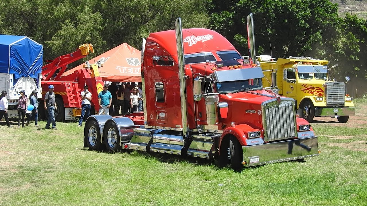 Kenworth w900l Studio Sleeper De Humar Logistic