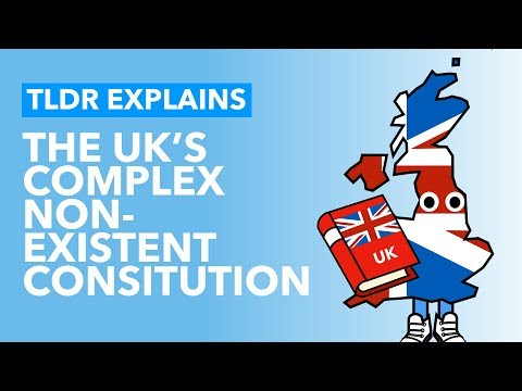 The UK's Constitution Explained - TLDR Explains