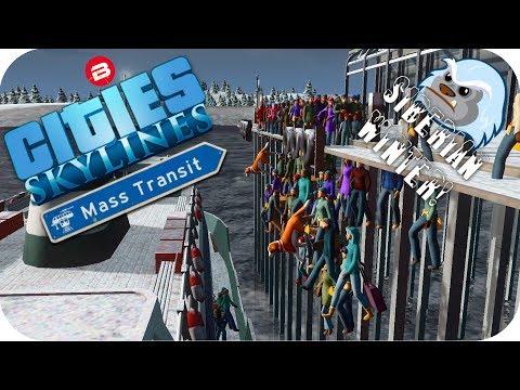 Cities Skylines Gameplay: FERRIES & FINALE! Cities Skylines MASS TRANSIT DLC SIBERIAN SCENARIO #9